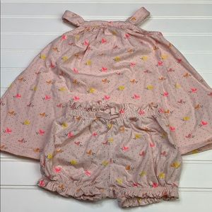 Summer outfit with bloomers size 6-12m